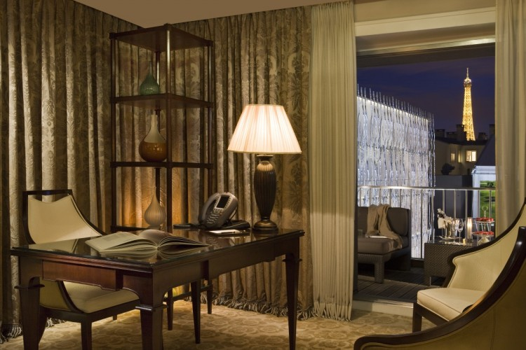 Fouquet's Barriere Paris Presidential Suite Eiffel Tower