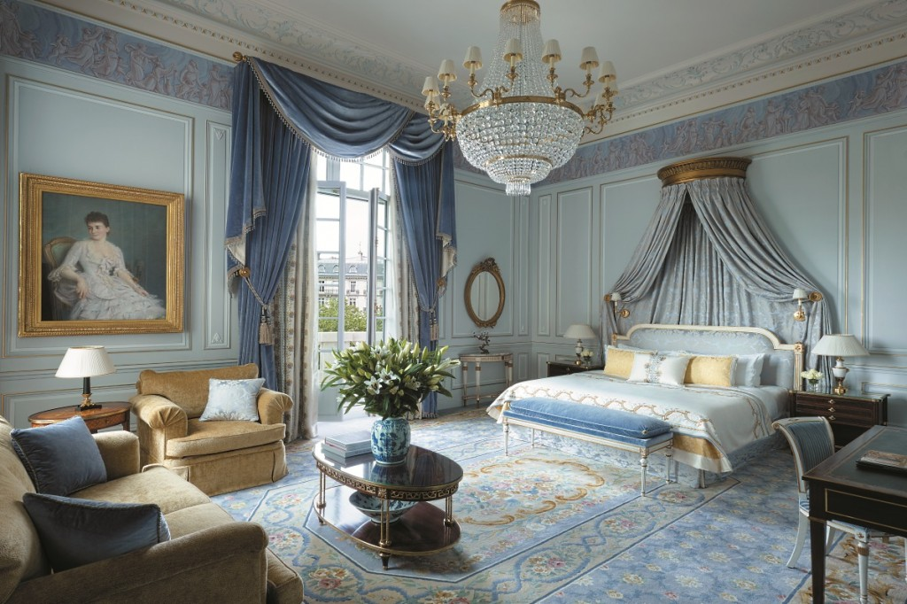 The Imperial Suite bedroom
