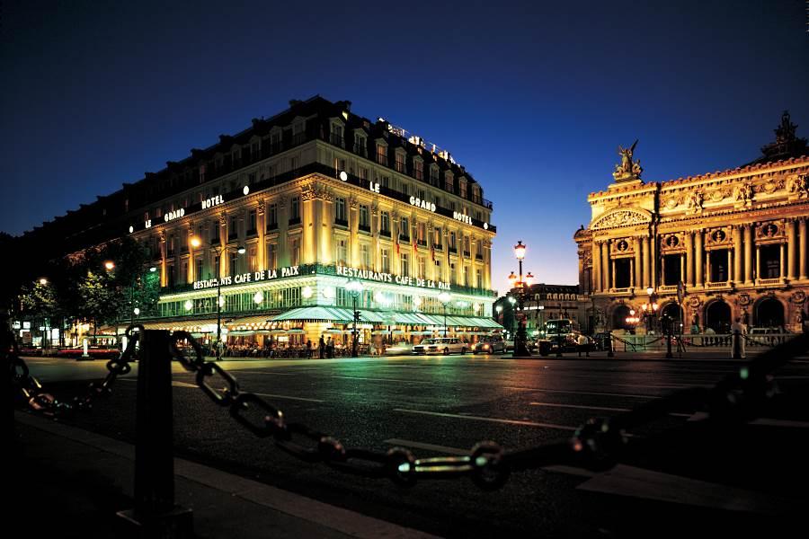 Intercontinental paris le grand h tel de luxe paris for Hotel de luxe en france