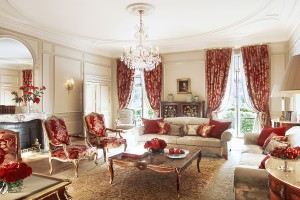 The Living-room of the Presidential Suite