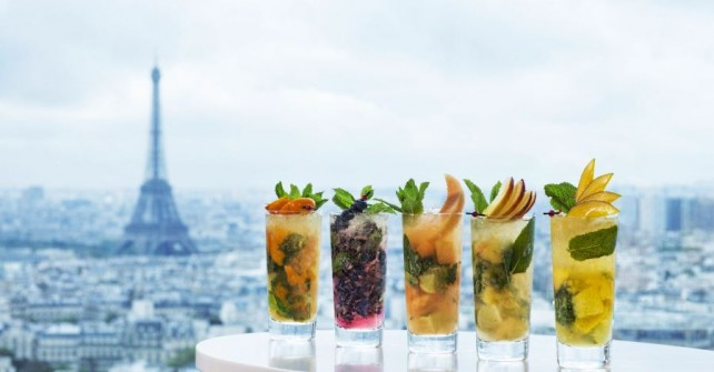 Bar La Vue happy hours – Hyatt Regency Paris Etoile