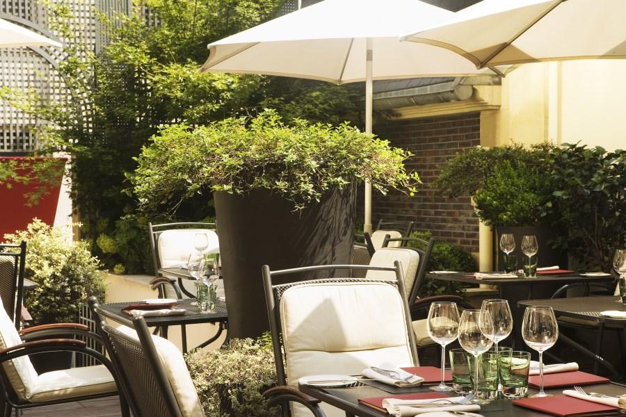 Radisson Blu Champs Elysées - Terrasse du restaurant