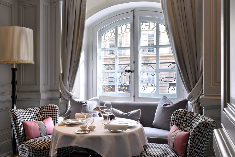 Hotel de Vendome restaurant Paris