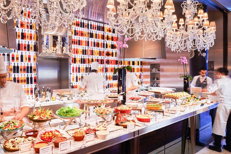 Royal Monceau Paris La Cuisine Brunch