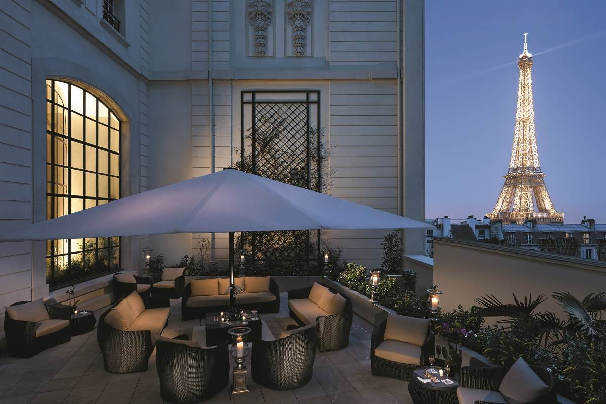 Shangri la paris luxury hotel in paris france for Top design hotels in paris
