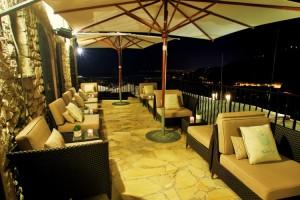 La terrasse du bar lounge