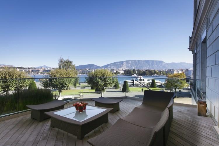 Beau-Rivage Geneva - Lake Geneva view