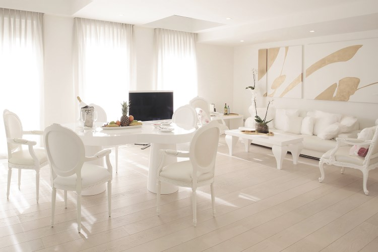 Boscolo Exedra Nice - Salon de la Suite Duplex