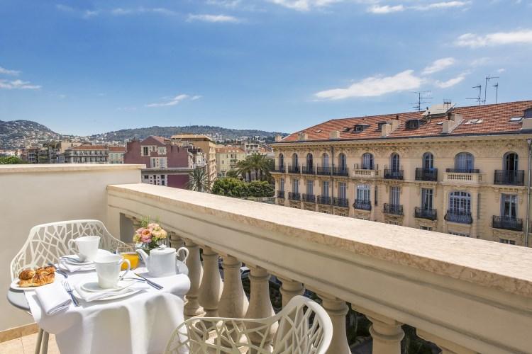 Boscolo Exedra Nice - Terrasse de la chambre Exécutive