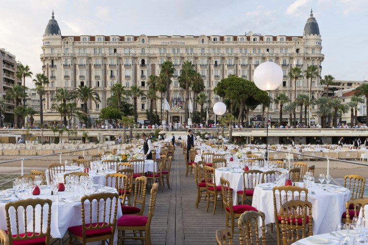 The Iconic Carlton Hotel In Cannes
