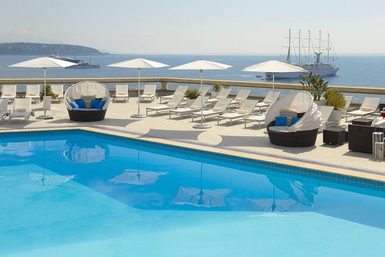 Fairmont Monte Carlo pool