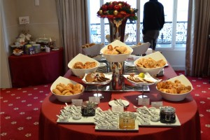 A part of the buffet