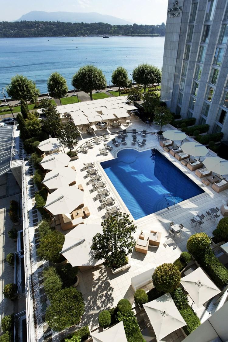 Hotel President Hotel President Wilson Geneva Luxury Hotel In Geneva Switzerland