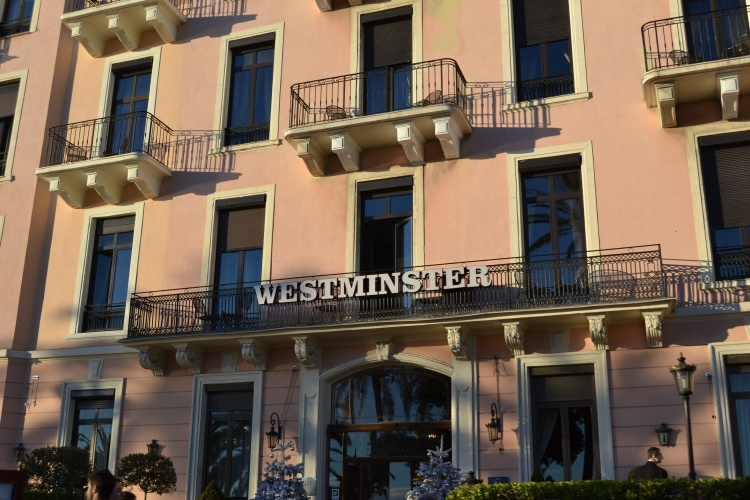 H tel westminster nice h tel de luxe nice france for Hotel luxe france