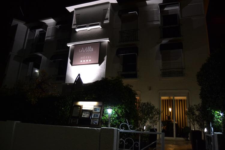 H tel la villa cannes croisette h tel de luxe cannes for Hotel de luxe en france