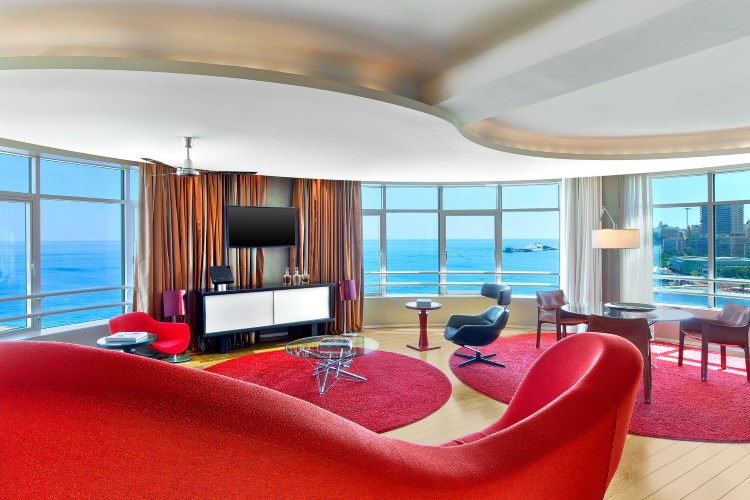 Le Méridien Beach Plaza - Salon de la Suite Présidentielle