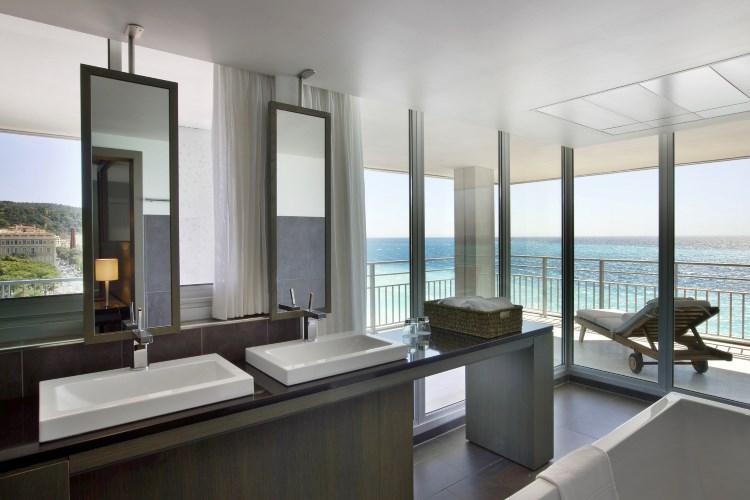 Le Méridien Nice - Junior Suite Panoramique - Salle de bains