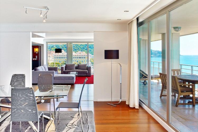 Le Meridien Nice - Presidential Suite - dining room