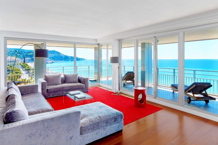 Le Méridien Nice - Suite Présidentielle - vue sur la mer