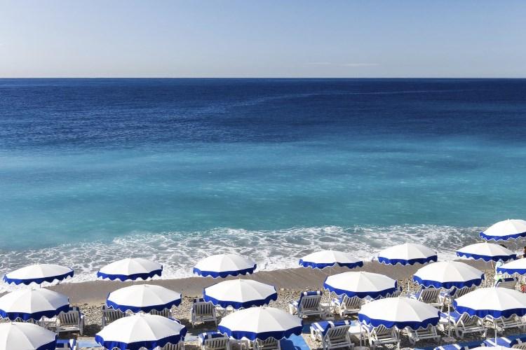 Le Méridien Nice - La plage privée