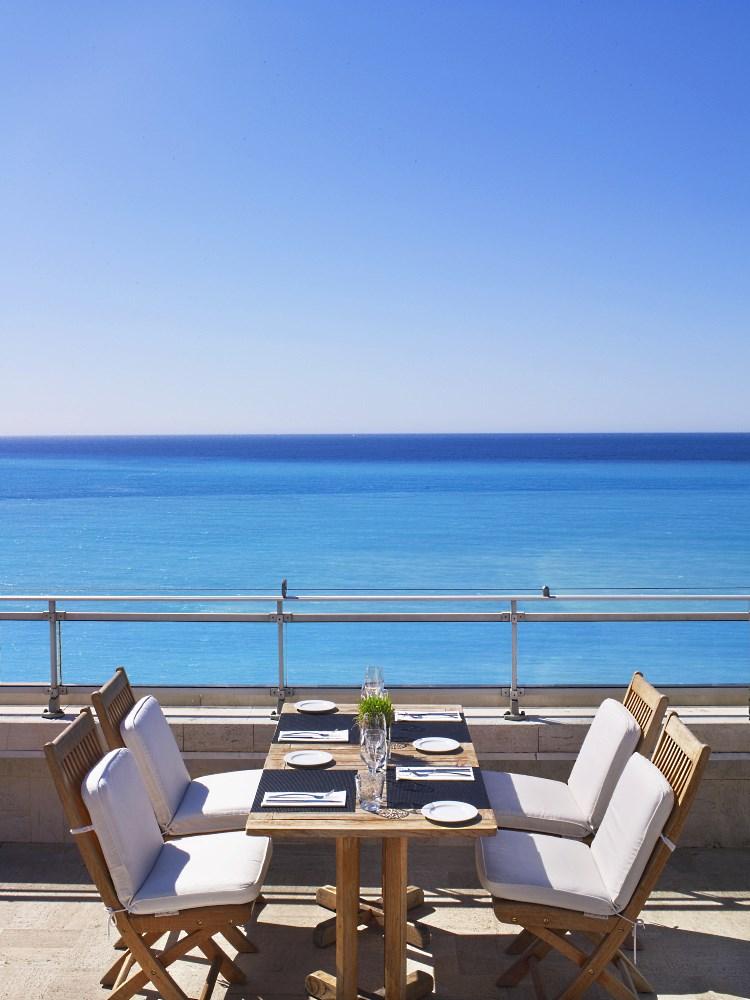Le Méridien Nice - Le restaurant en terrasse