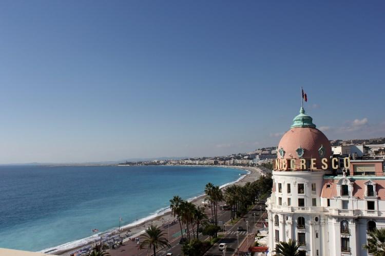 L'hôtel de luxe Le Negresco à Nice
