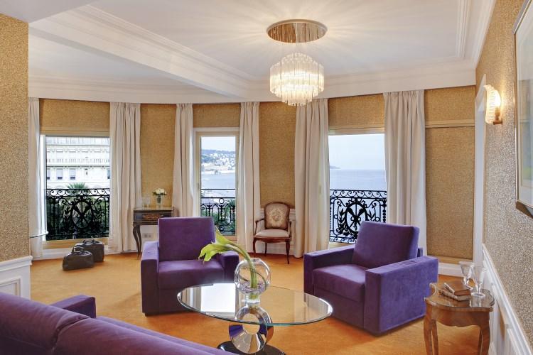 Le Negresco Nice - Suite Royale living room