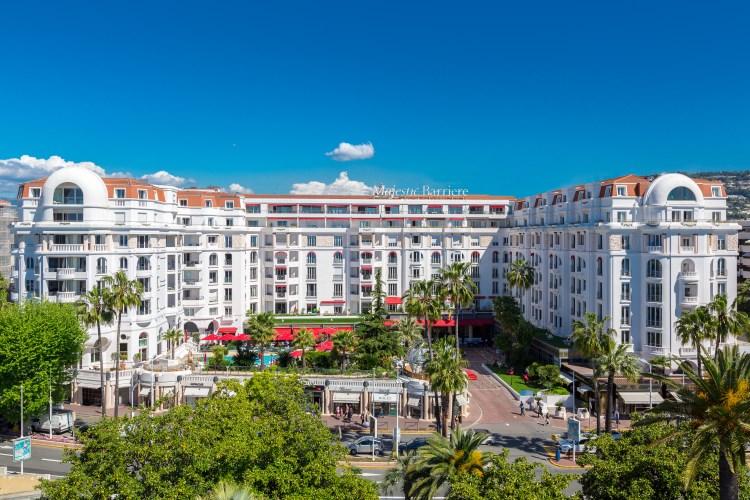 Le Majestic Barrière à Cannes