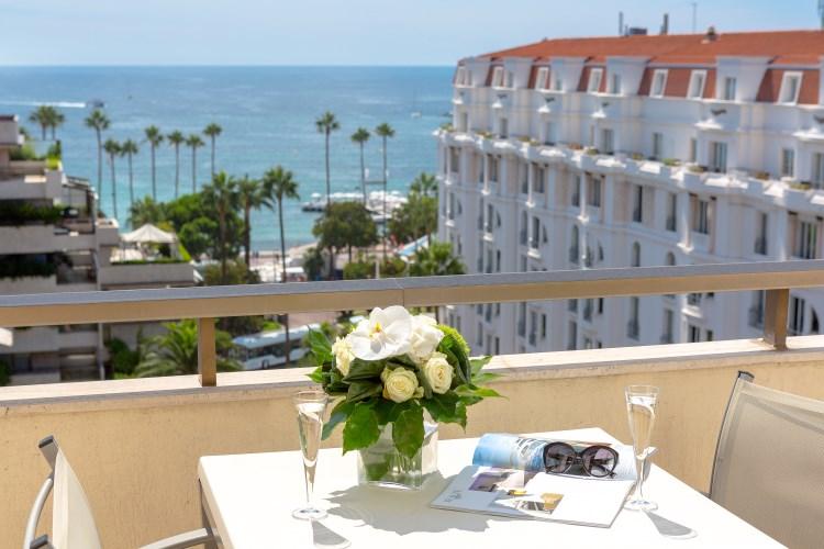 Majestic Cannes - Suite terrace