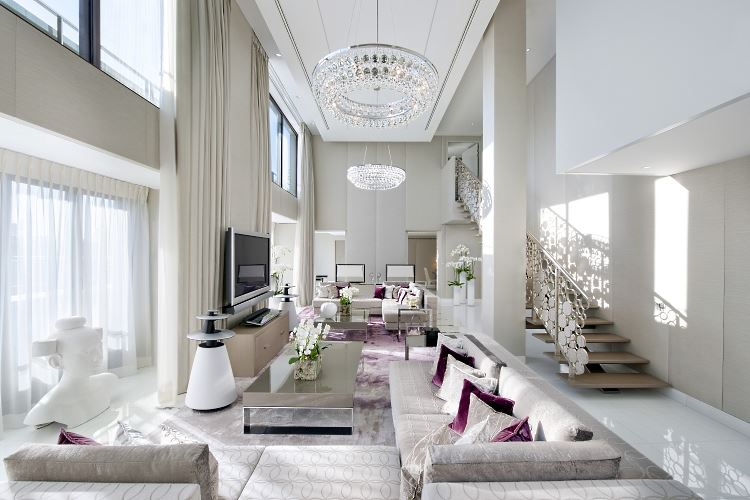 Suite Royale Mandarin Oriental Paris