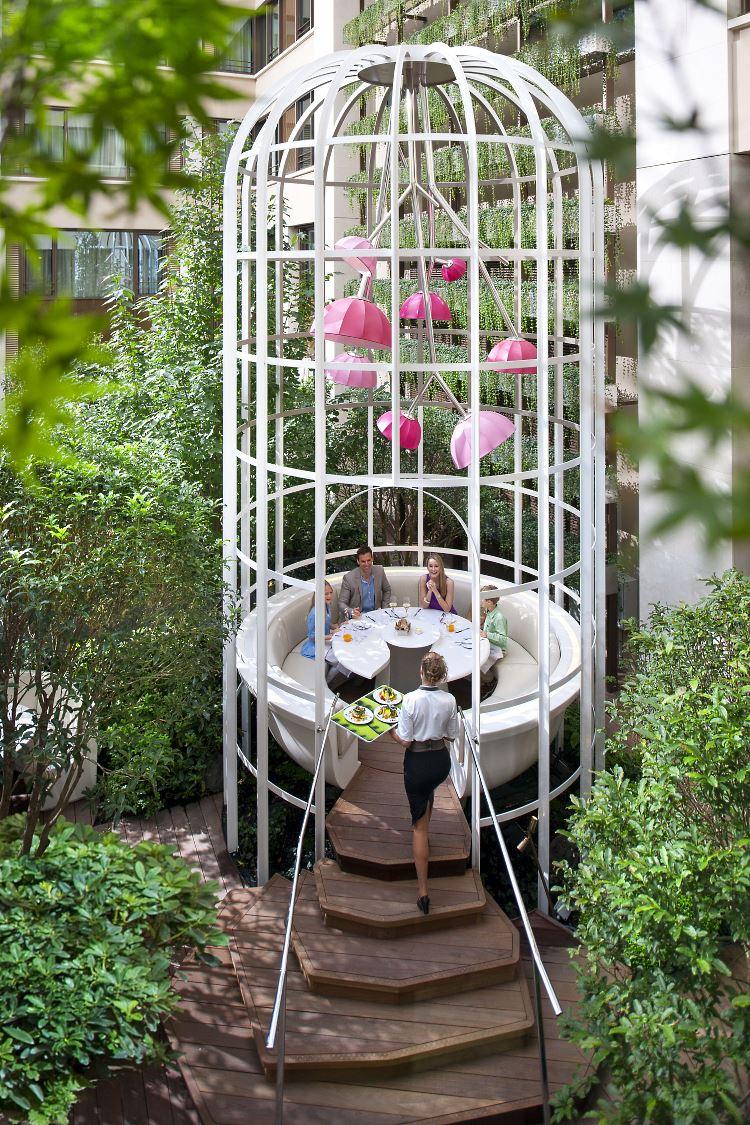 Mandarin Oriental Paris restaurant