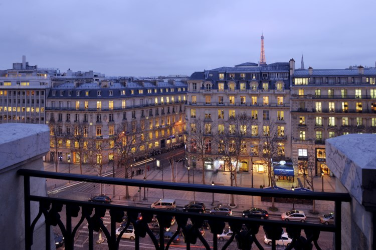 Marriott Champs Elysees Paris - View