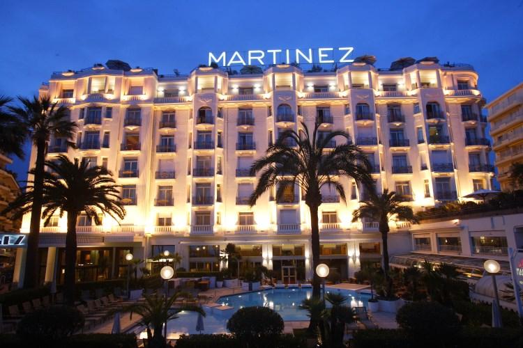 Martinez Cannes de nuit