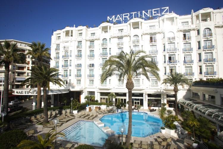 Martinez Cannes - Façade de l'hôtel