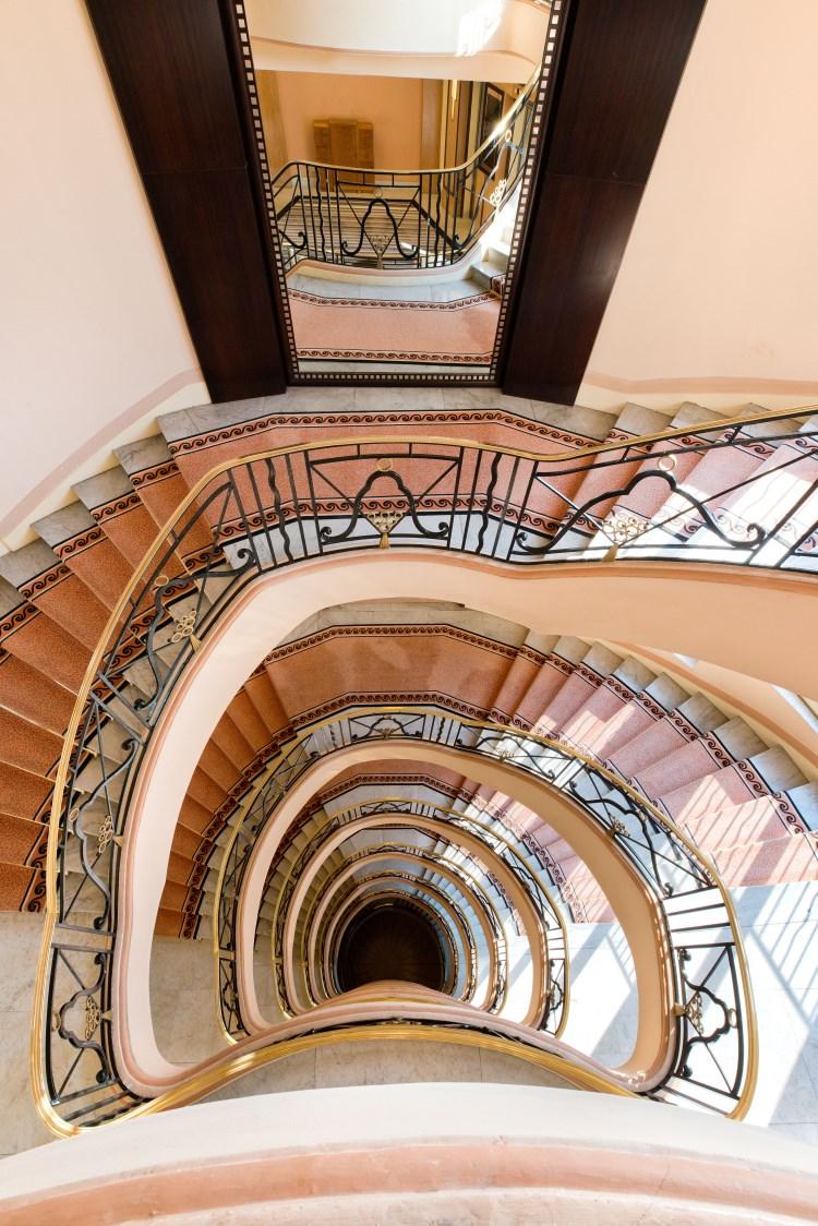 Martinez Cannes - Les escaliers