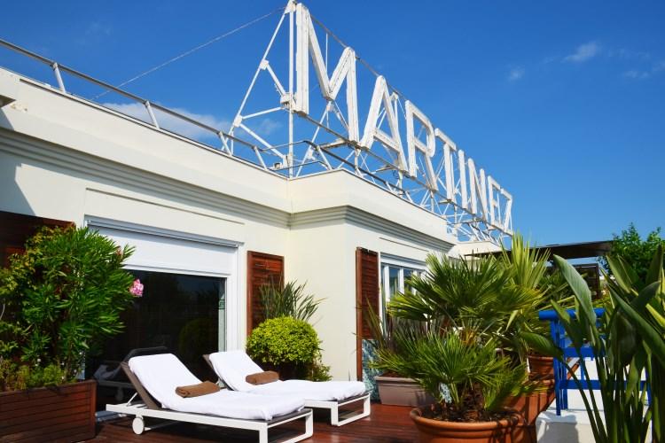 Martinez Cannes - Terrasse de la Suite Penthouse