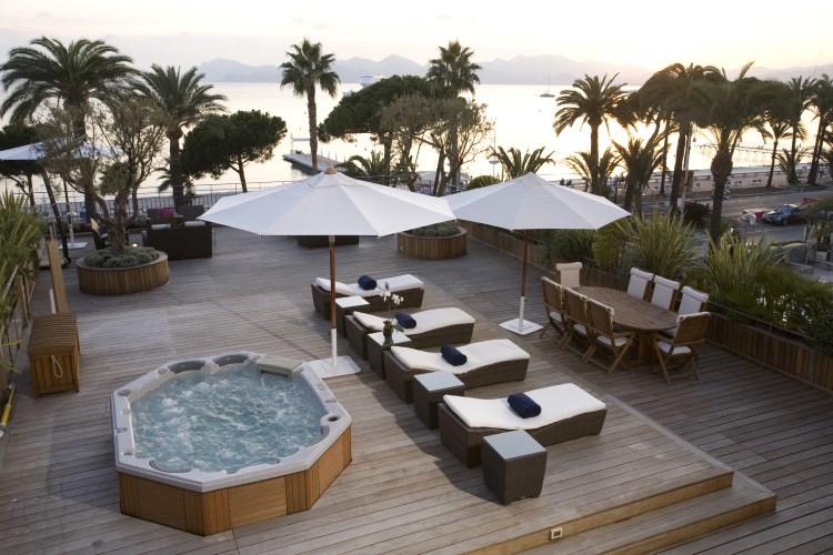 Martinez Cannes - Terrasse de la Suite des Oliviers