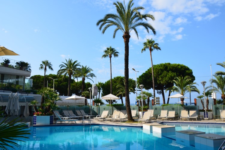 Martinez Cannes - Piscine
