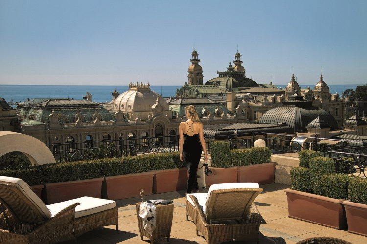 Metropole Monaco - Terrace of the Carre d'Or Suite
