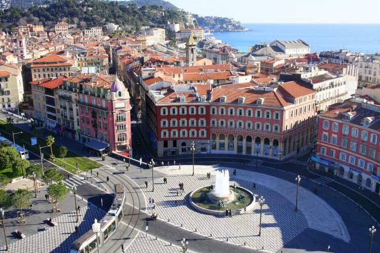 La vieille ville de Nice