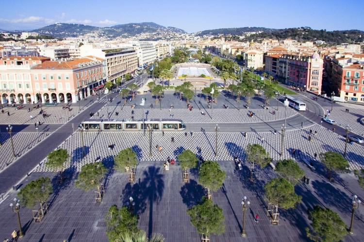 Le centre ville de Nice