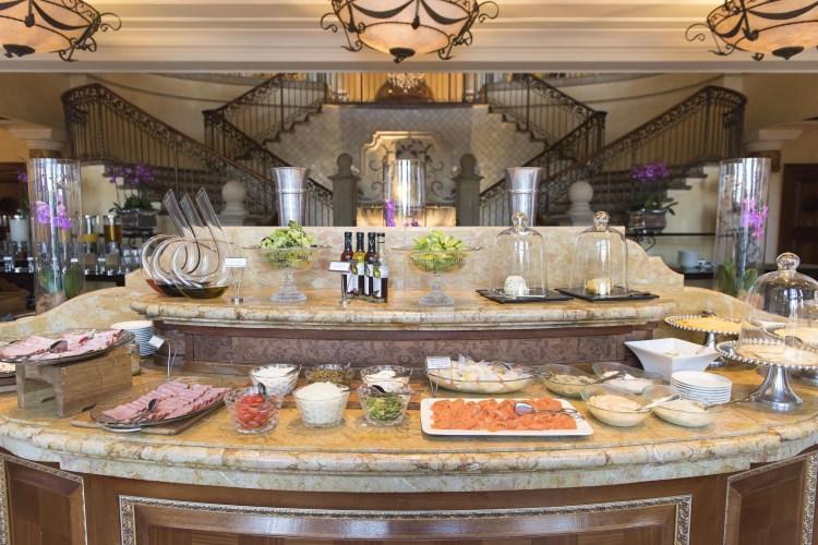 Palazzo Montecasino - Le buffet du petit déjeuner