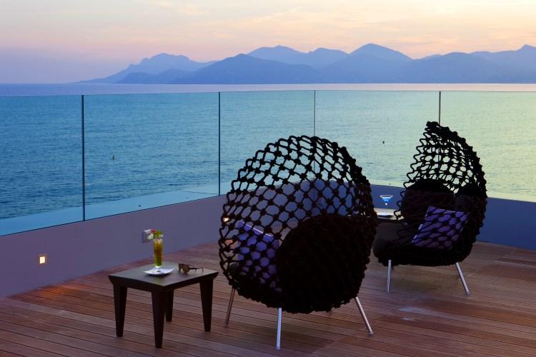 Radisson Blu 1835 Cannes - Terrasse