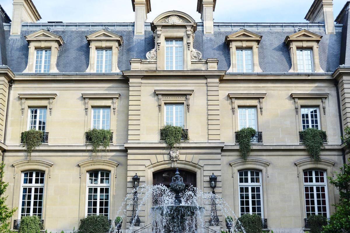 H tel saint james paris h tel de luxe paris france for Hotel de luxe en france