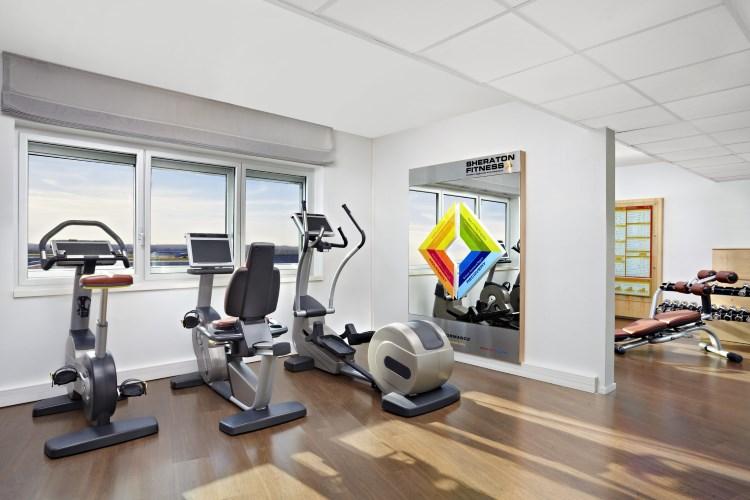Hôtel Sheraton Aéroport de Paris - Salle de fitness