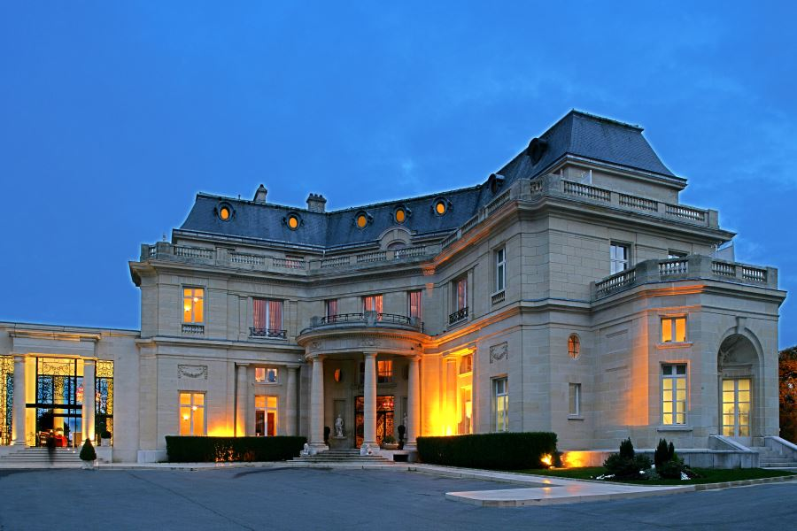 H tel de luxe chantilly for Hotel luxe france