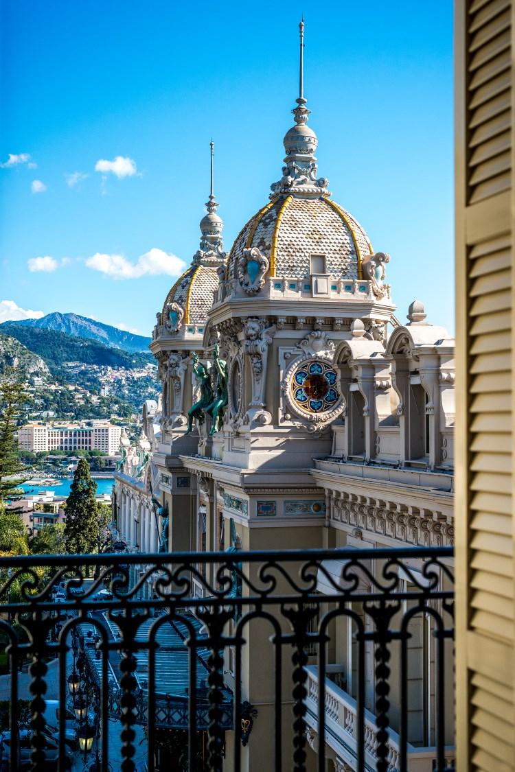 View over Monaco casino