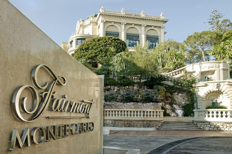 Fairmont Monte Carlo entrance