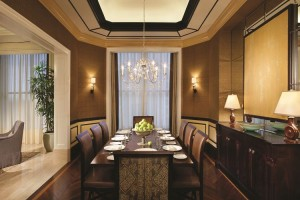 Penthouse Suite - Dinning room