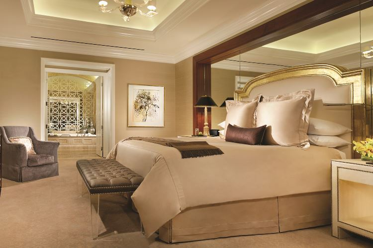 Caesars Palace Las Vegas Penthouse bedroom